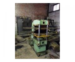 Горячий пресс для производства резиновой плитки XBL-0,5